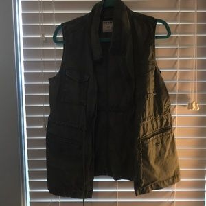 Old Navy, women's utility vest, size small